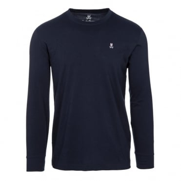 Classic Long Sleeve Crew in Navy