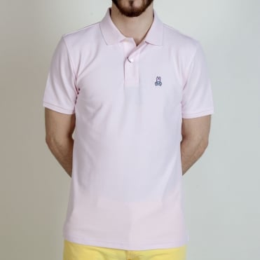 Classic Pique Polo Shirt in Pink