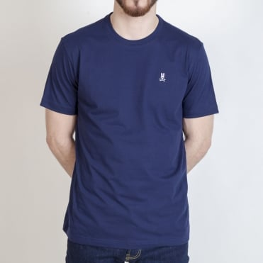 Crew Neck T Shirt in Navy