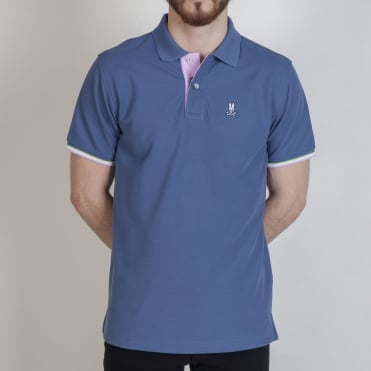 St Croix Trim Polo Shirt in Tidal