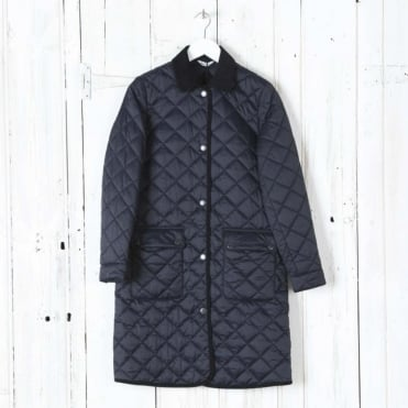 Quilted Border Coat