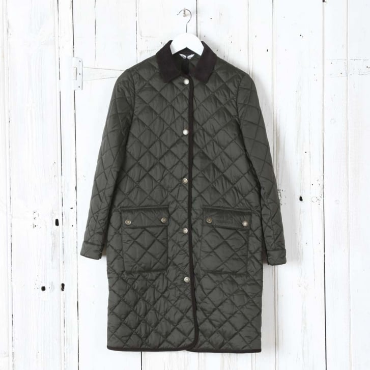 BARBOUR Quilted Border Coat