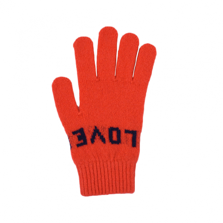 QUINTON & CHADWICK Love Glove in Red & Black
