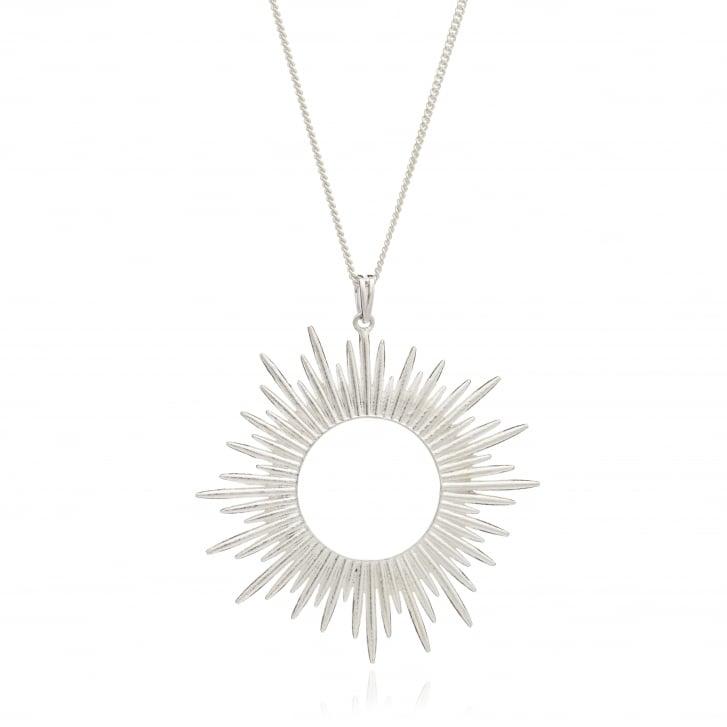 RACHEL JACKSON Electric Goddess Long Sun Ray Pendant