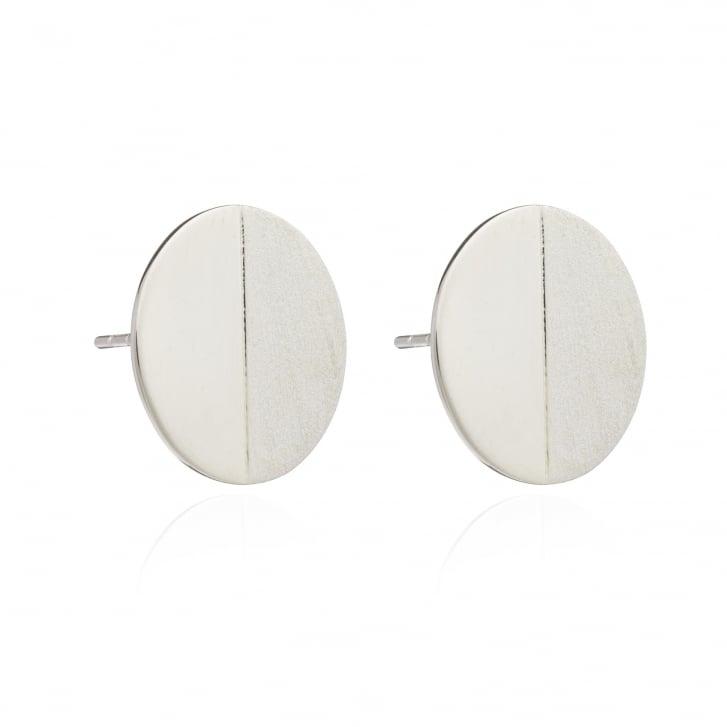 RACHEL JACKSON Lunar Moon Silver Stud Earring