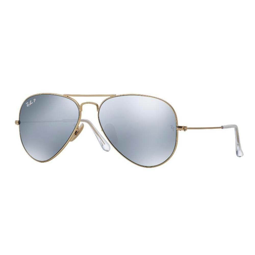 ray ban gold mirrored aviator sunglasses  ray ban gold mirrored aviator sunglasses