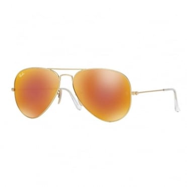 Aviator Flash Metal Sunglasses