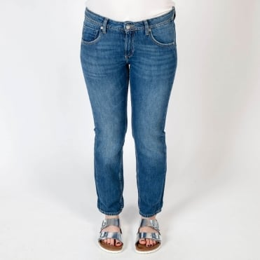 Easy Boyfriend Jean in Stonewash