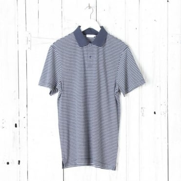 Rib Collar Polo Shirt