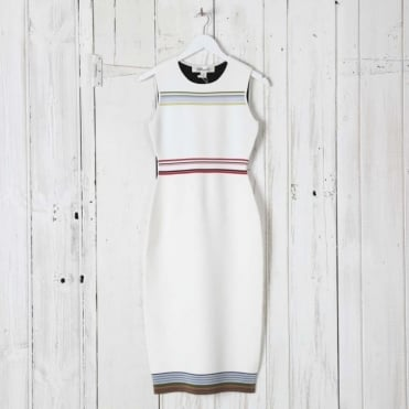 Ribbon Knit Tank Dress