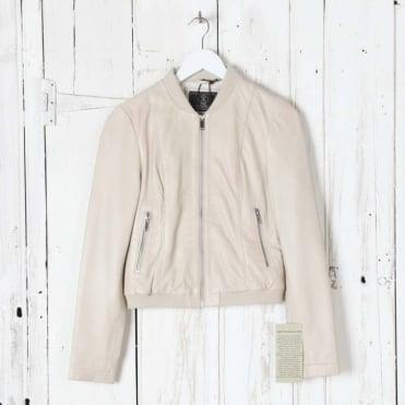 Soft Lamb Bomber Jacket