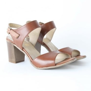 Tazia Block Heel Sandal