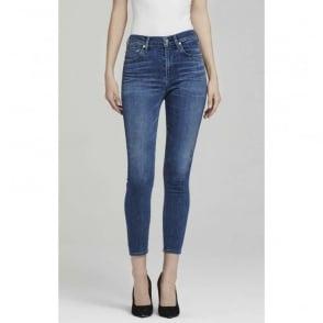 Rocket Crop Highrise Skinny Jean