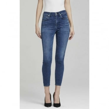 Rocket Crop Highrise Skinny Jean