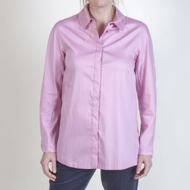 Arold Cotton Shirt in Peony