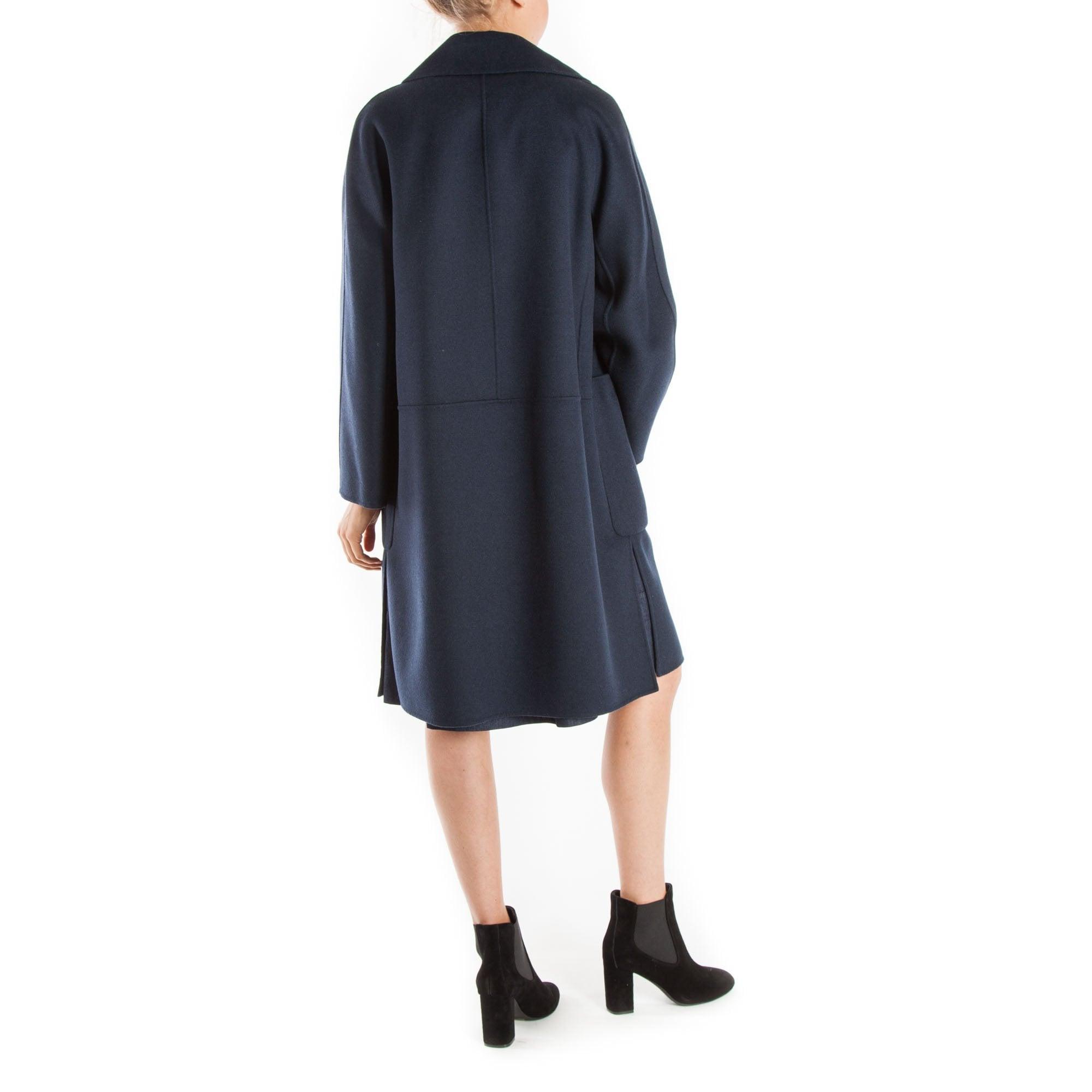 bästa värde officiell webbplats nyaste kollektion Aronaci Wool Peacoat in Midnight Blue | Collen & Clare