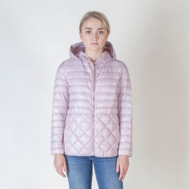 Etres Quilted Jacket in Pink