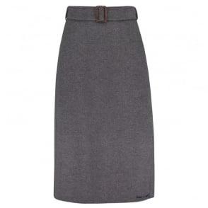 Ezor Skirt in Medium Grey