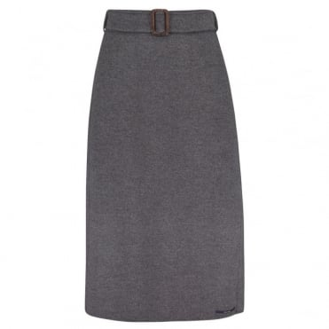 Ezor Skirt in Medium Grey