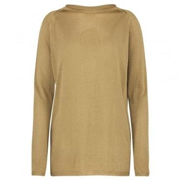 Faina Sweater in Gold
