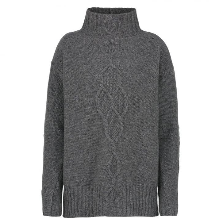 S MAX MARA Navata Sweater in Light Grey