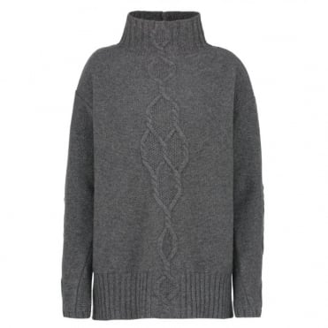 Navata Sweater in Light Grey