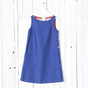 Petra Dress with Buttons