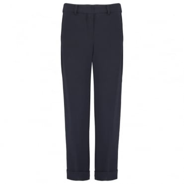 Terzo Long Pants in Midnight Blue