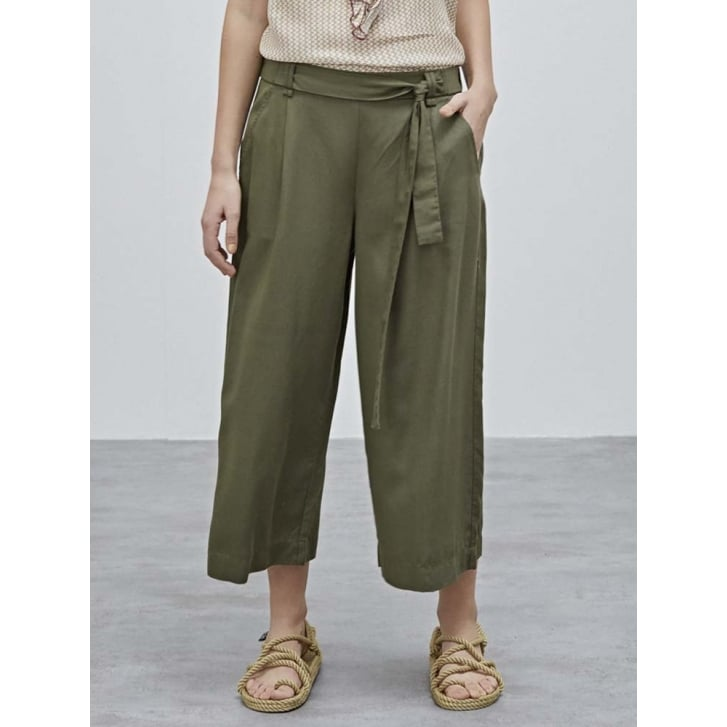 SACKS Cropped Tie Waist Pants