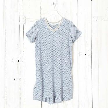 Mai Printed Mini T-Dress