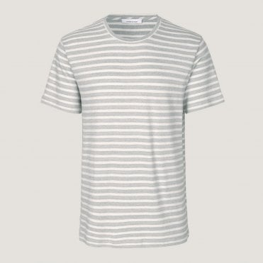 a12e8d02657 Broby Stripe T Shirt in Surf Blue. SAMSOE ...