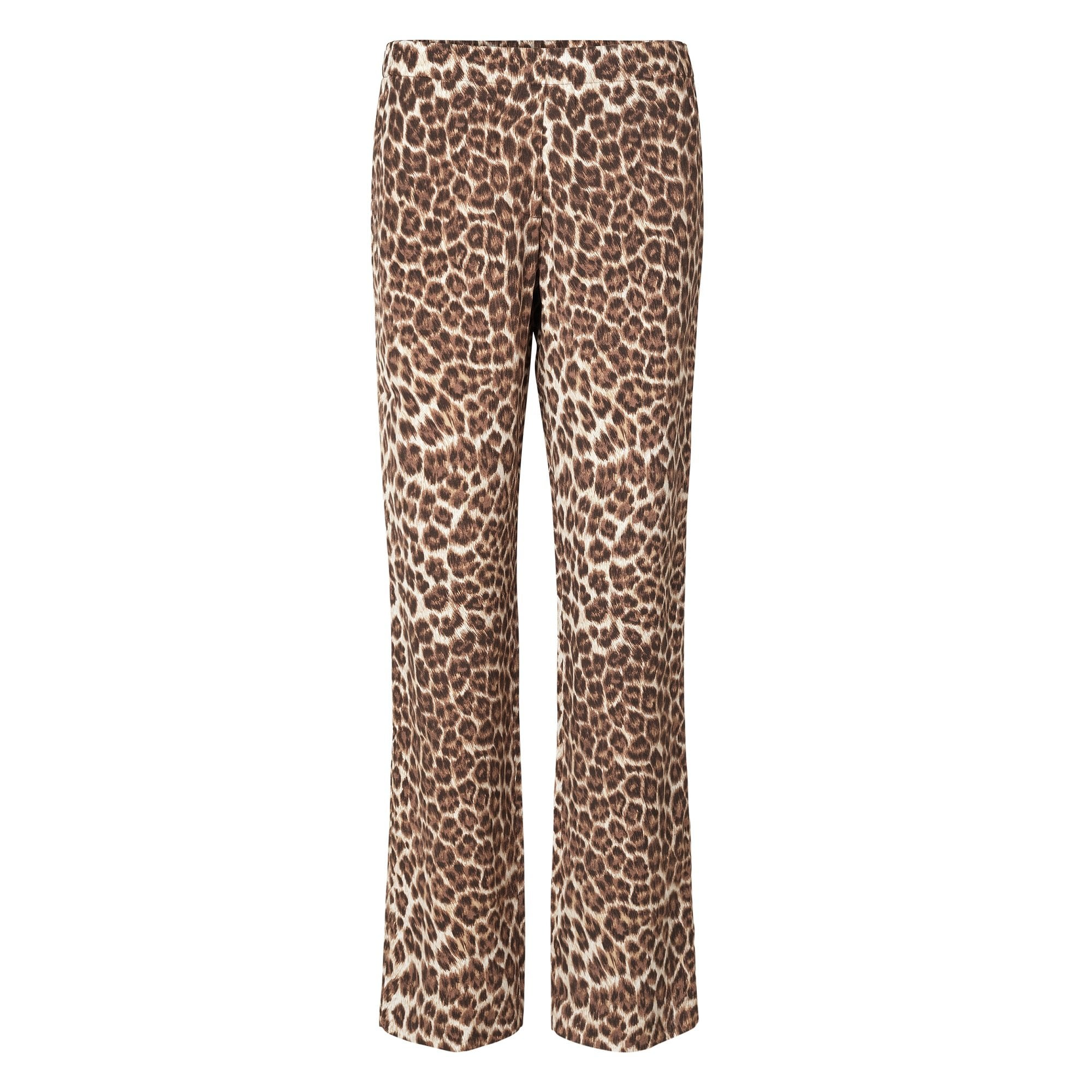 Hoys Straight Leg Pants in Leopard