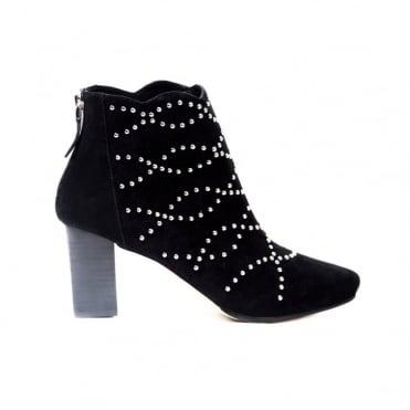 Deluxe Black Suede Boot