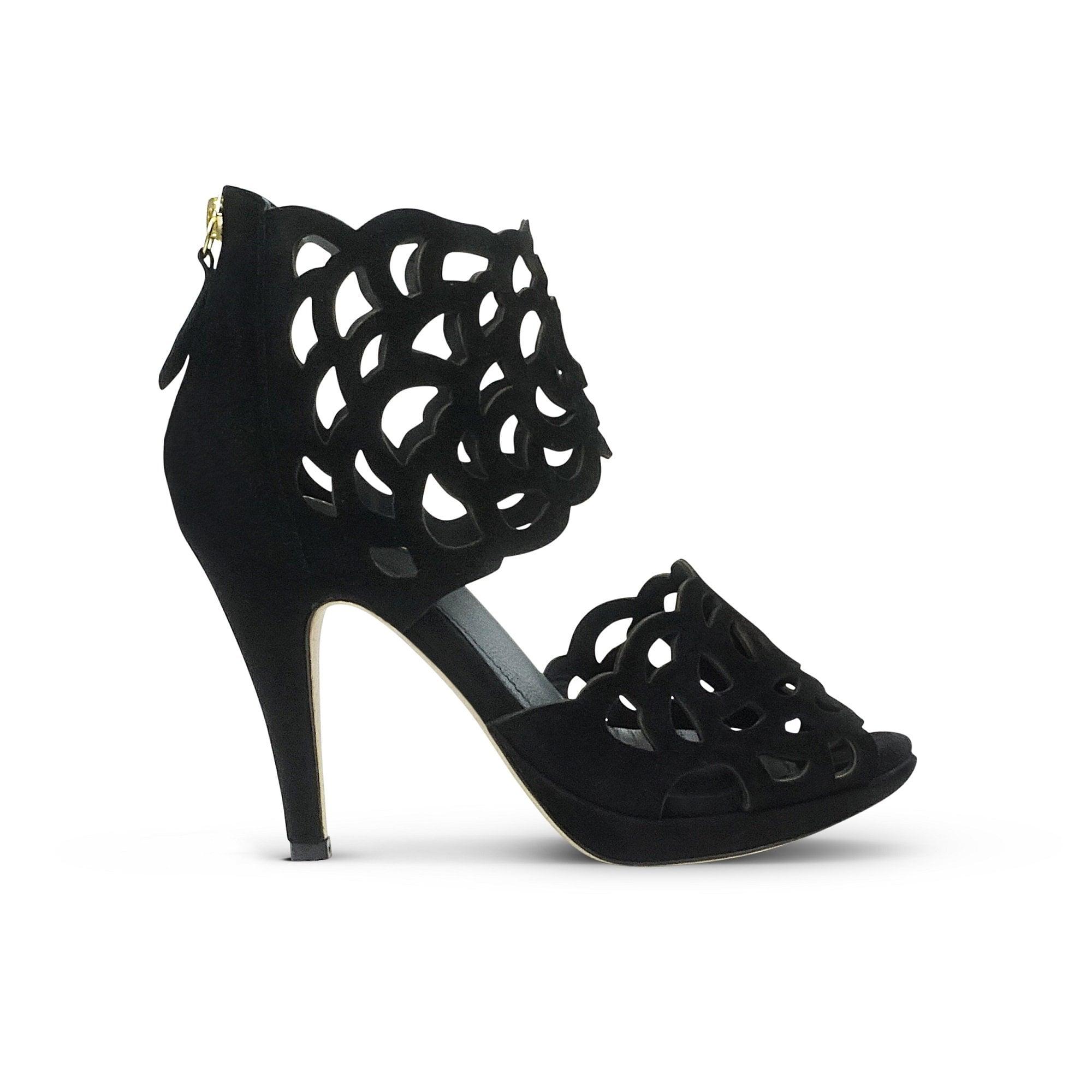 7cbae4b96e3f Buy Sargossa Inspire Suede Stiletto In Black | Collen & Clare