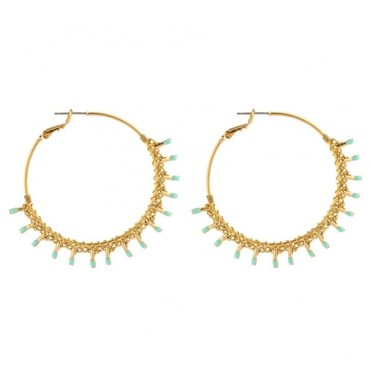 SATELLITE Big Hoop Kuzco Post Earrings in Gold