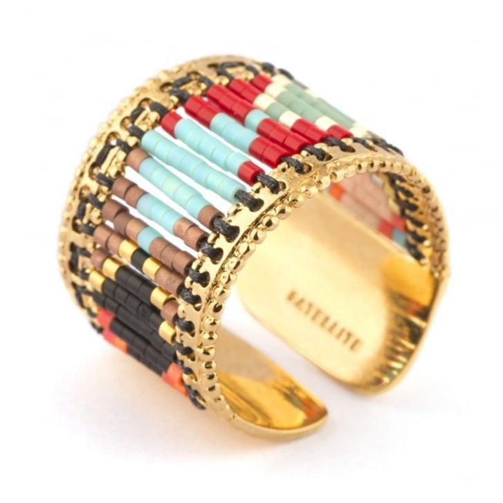 SATELLITE Sofia Multi Bead Detail Ring