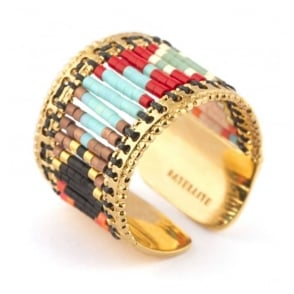 Sofia Multi Bead Detail Ring