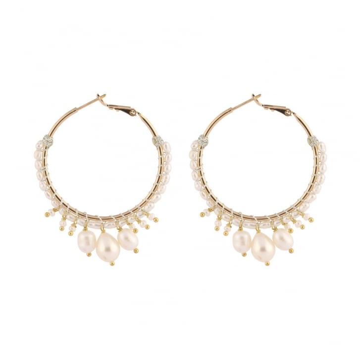 SATELLITE Stromboli Post Earrings in Gold