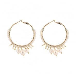 Stromboli Post Earrings in Gold