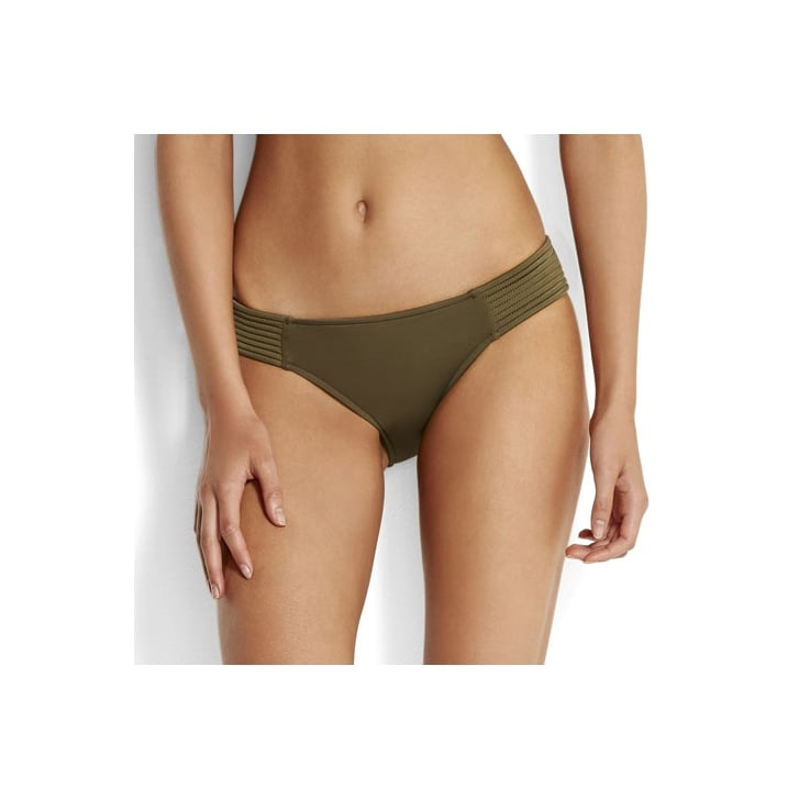 SEAFOLLY Quilted Hipster in Dark Olive