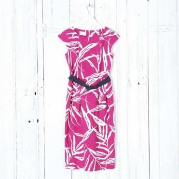 Sheila Capsleeve Tulip Dress