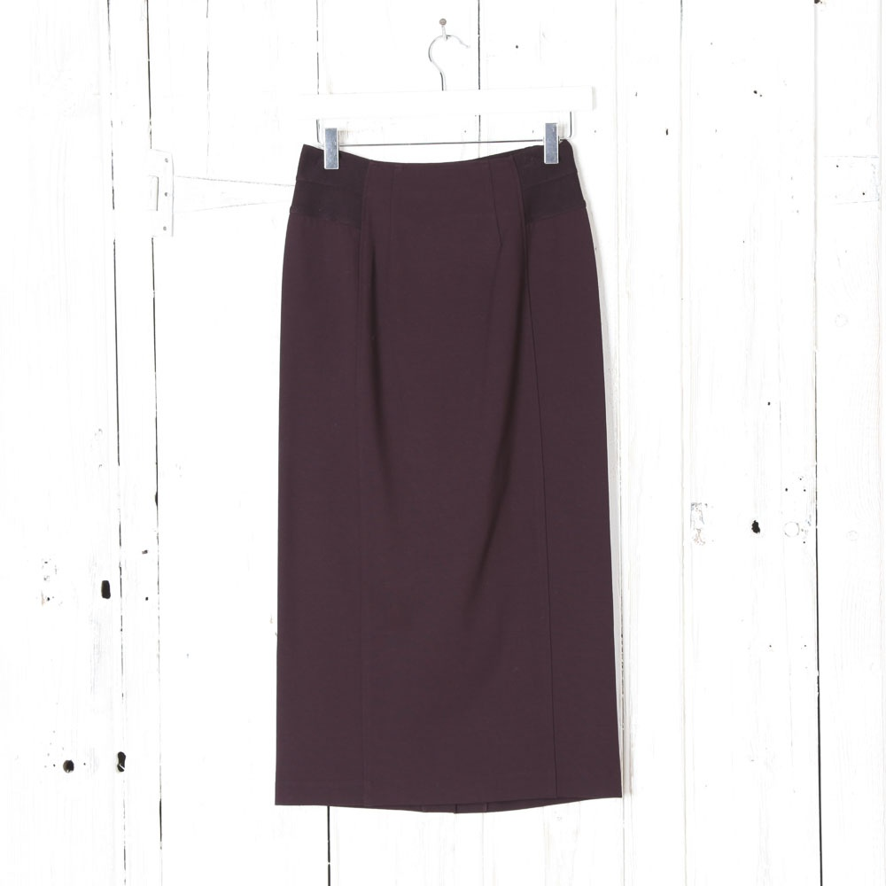 She's So Italy Long Straight Skirt in Mulberry | Collen ...