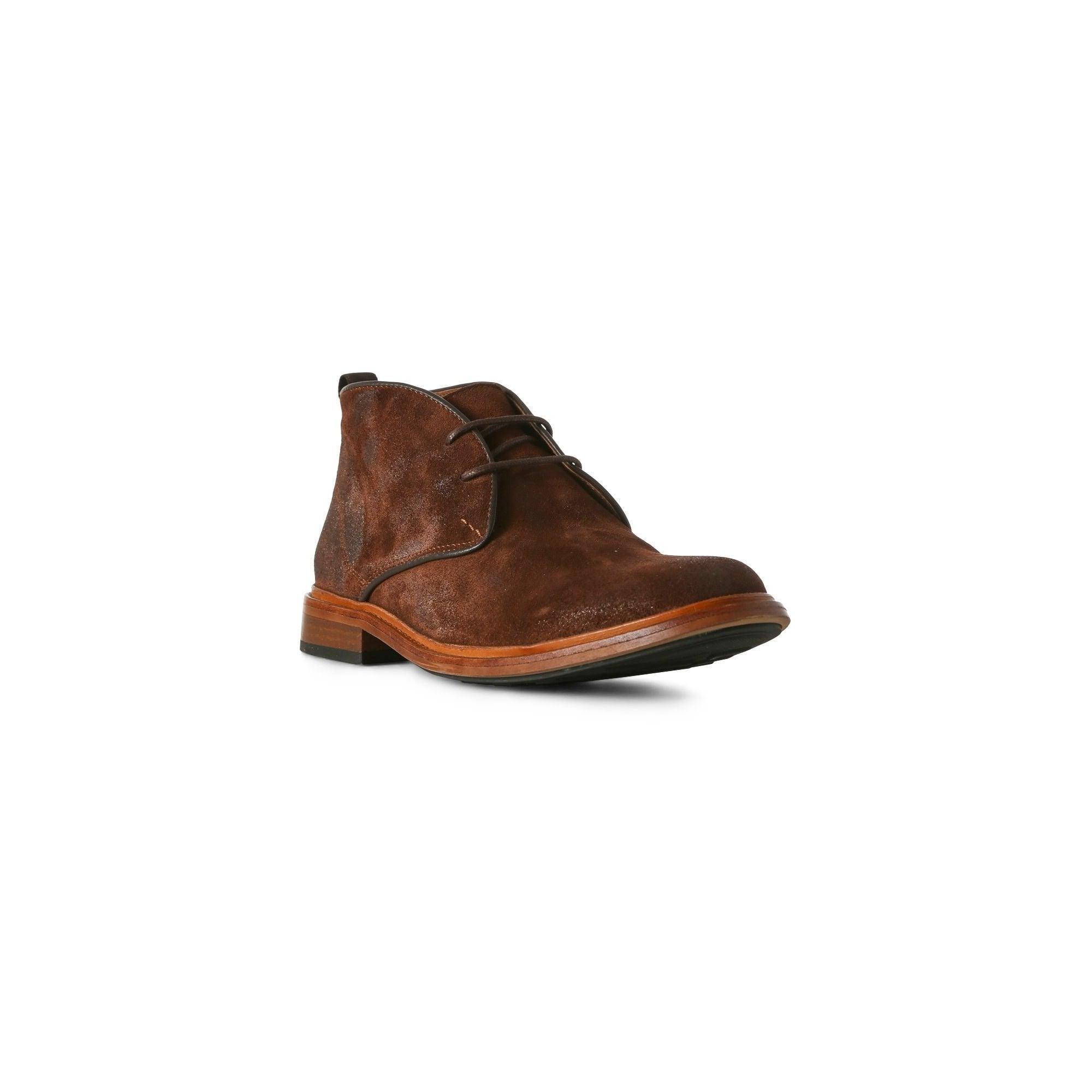a87e177c6fa Dalton Suede Chukka Boot in Dark Brown