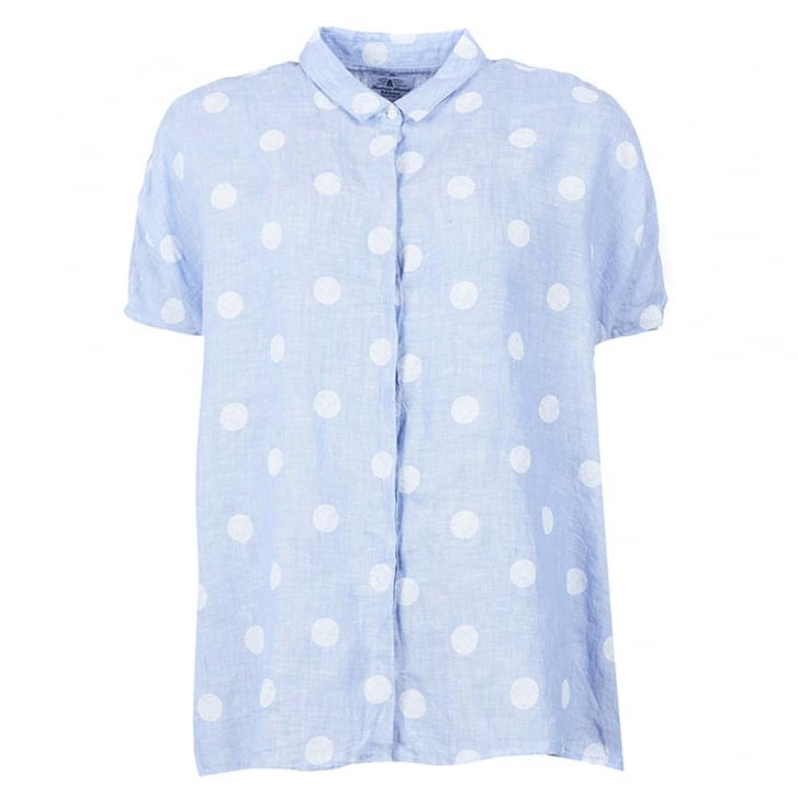 BARBOUR Short Sleeved Polka Dot Shirt