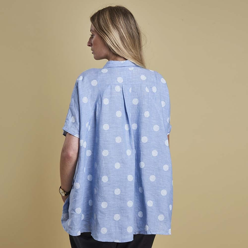 Buy Barbour Short Sleeved Polka Dot Shirt Collen Clare