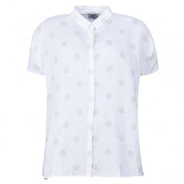 Short Sleeved Polka Dot Shirt