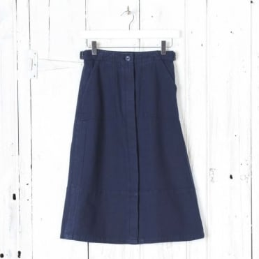 Nancy Indigo Skirt