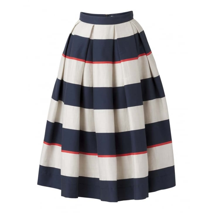 OILILY Sijala Pleated Stripe Skirt