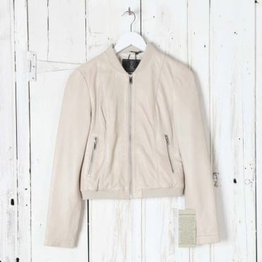 Soft Lamb Bomber Jacket