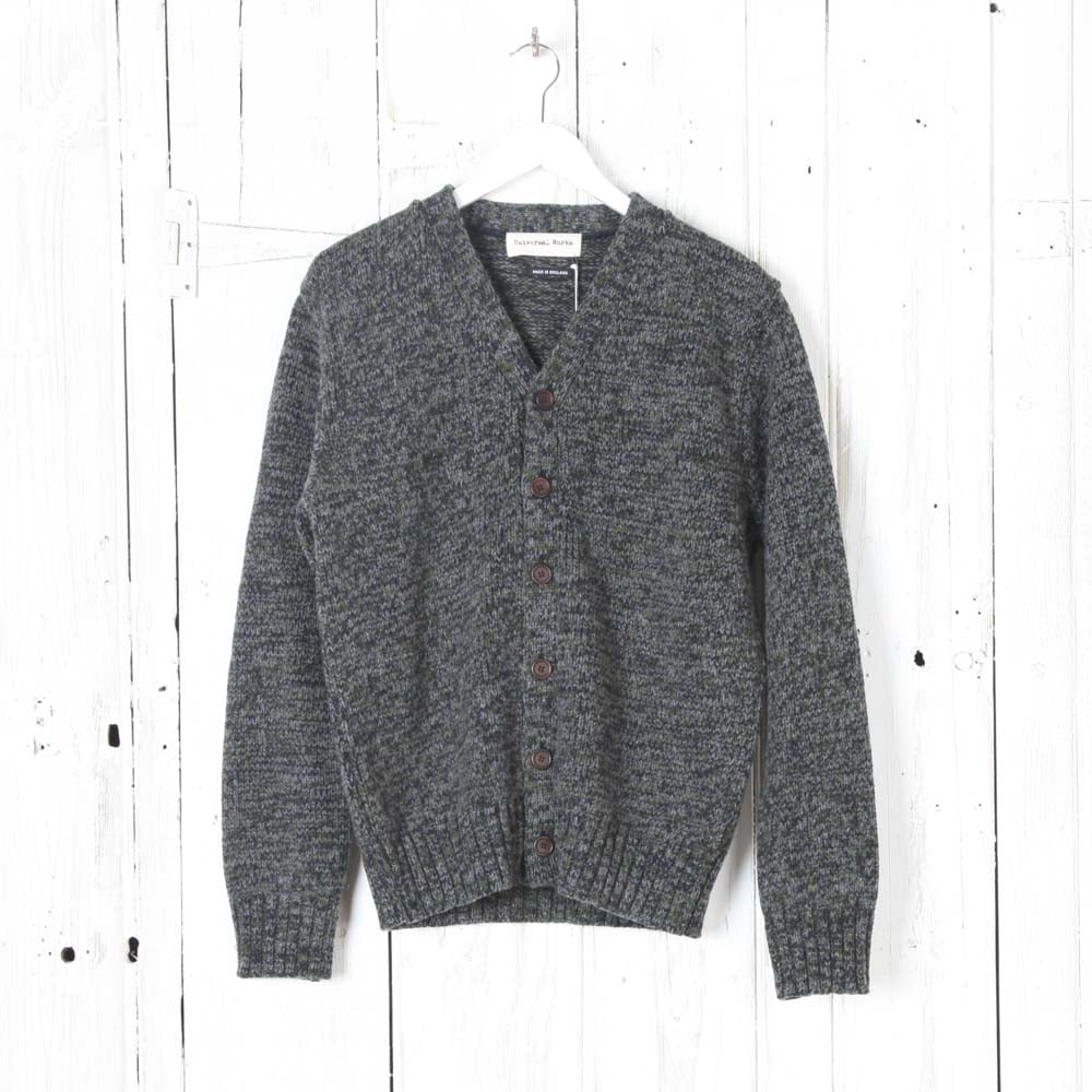 UNIVERSAL WORKS Soft Wool Twist Cardigan - Man from Collen & Clare UK